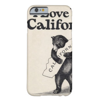 I Love You California iPhone 6 case Barely There iPhone 6 Case