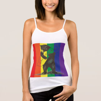 I Love You California--Rainbow Singlet