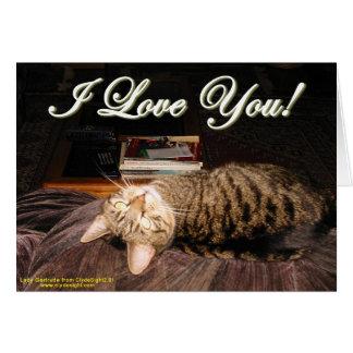 """""""I Love You"""" card"""