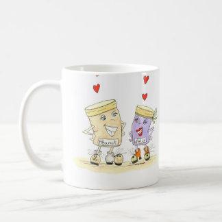 I love you coffee mug peanut butter and jelly