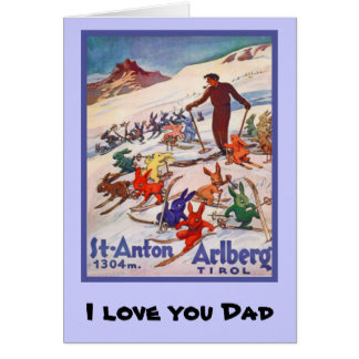 I love you Dad, 7 Greeting Card