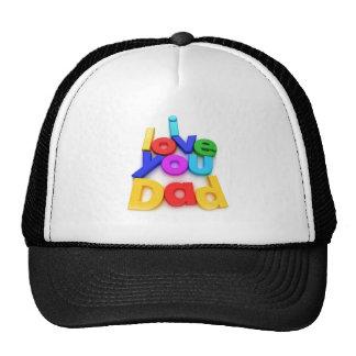 I love you dad cap hat