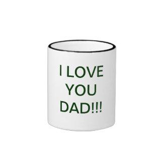 I love You Dad Cofee Mug