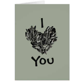 """""""I Love You, Dad"""" Funny Cool Unique Father's Day Greeting Card"""