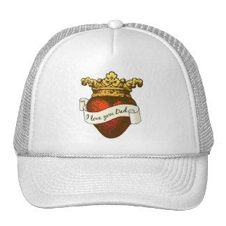 I Love You Dad Trucker Hats