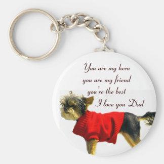 I Love you Dad_Keychain Key Chains