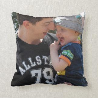I Love you Daddy Custom Photo Cushion