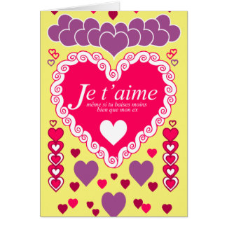 I love you, even if… card