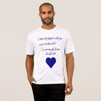I Love You Expression Heart For Him T-Shirt