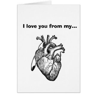 I Love You From My Apex... Card