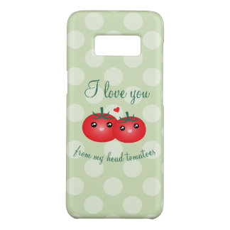 I Love You From My Head Tomatoes Funny Fruit Pun Case-Mate Samsung Galaxy S8 Case