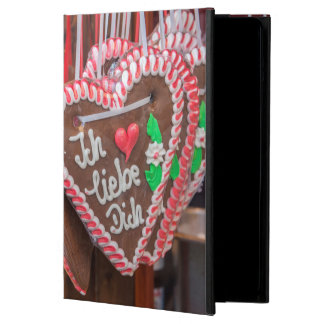 I Love You Gingerbread Hearts At The Holiday Cover For iPad Air