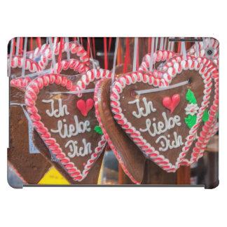 I Love You Gingerbread Hearts At The Holiday iPad Air Cover