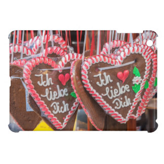 I Love You Gingerbread Hearts At The Holiday iPad Mini Cases