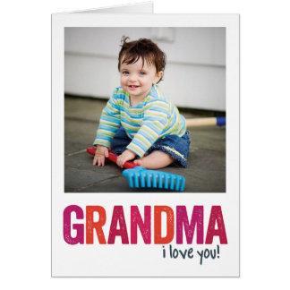 I Love You, Grandma! Greeting Card