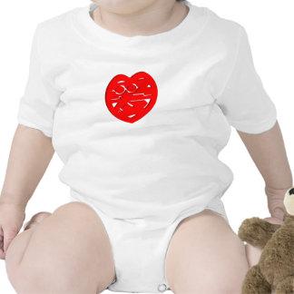 I Love You Heart Infant Creeper