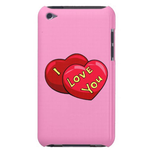 I Love You Hearts iPod Case-Mate Case