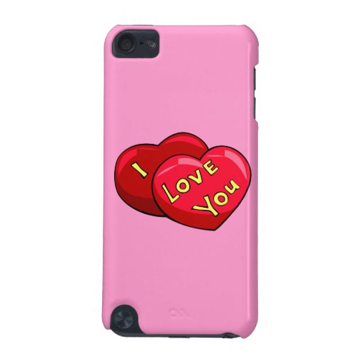 I Love You Hearts iPod Touch 5G Cover
