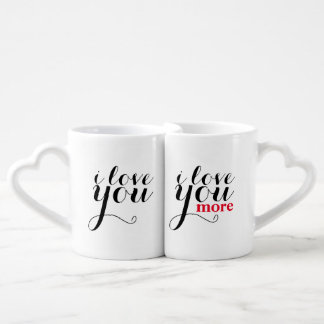 """I love you. I love you more."" Jumbo Mug"