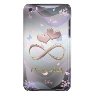 I love you infinitely barely there iPod cover