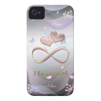 I love you infinitely iPhone 4 Case-Mate cases
