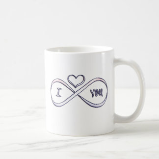 I love you infinitely coffee mug