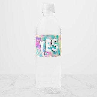 I Love You Jesus Water Bottle Label