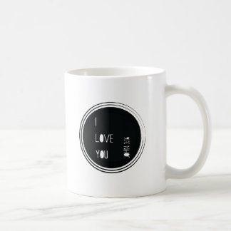 """I love you"" John 3:16 Christian Verse Coffee Mug"