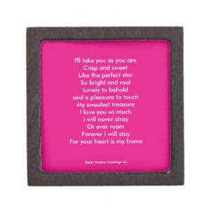 Wedding Poem Gift Boxes Keepsake Boxes Zazzle Com Au