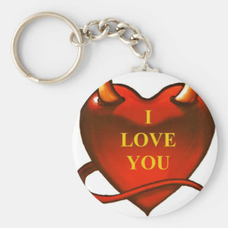 I LOVE YOU KEY RING