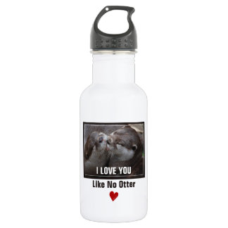 I Love You Like No Otter Cute Photo 532 Ml Water Bottle