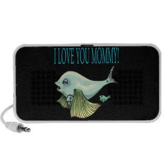 I Love You Mommy iPod Speaker
