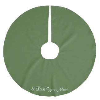 I Love You More Brushed Polyester Tree Skirt