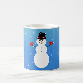 I Love You More Snowman Magic Mug