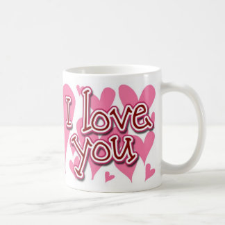 I LOVE YOU - mug