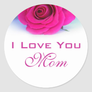I Love You Mum Sticker