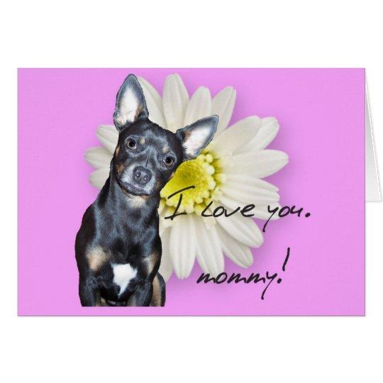 I Love You, Mummy Card