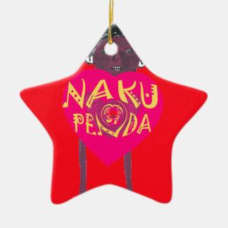 I love you Nakupenda Kenya Swahili Art Ceramic Ornament