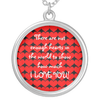 I Love You! Necklace