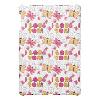 """I love you"" note, best gift ideas Cover For The iPad Mini"