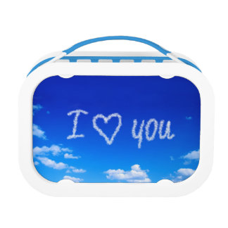 I love you on clouds lunchbox