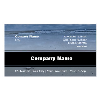 I Love You On The Beach Pack Of Standard Business Cards