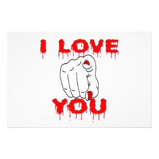 I Love You Art Photo
