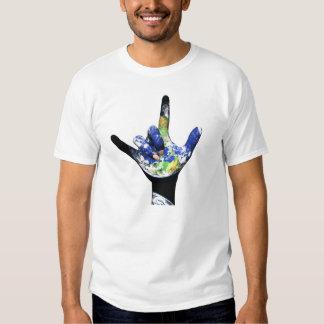 I Love You Planet Earth T-Shirt