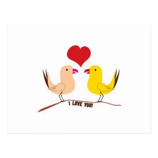 I Love You! Postcard