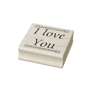 I love you rubber stamp, love stamp, mothers day rubber stamp