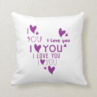 I Love You - Show your love. Cushion