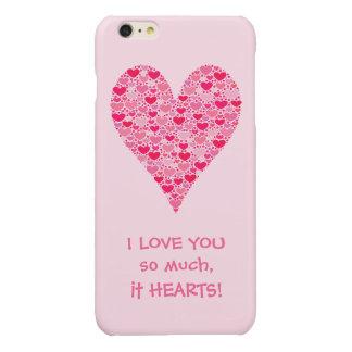 I love you so much it hearts Tiny Hearts Big Heart