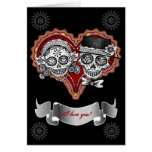 I Love You Sugar Skull Cards - Add your own text