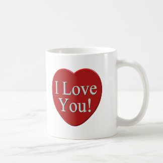 I Love You T-shirts and Gifts Mug